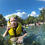 Discovery cove - swimming with the fishes