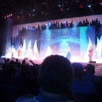 Frozen sing-along show