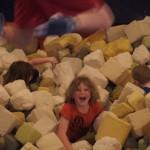 Foam fight!