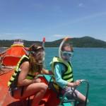 DSCF0725 (A long-tail boat trip – snorkelling round islands)